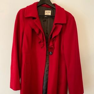 Red Old Navy Coat - L